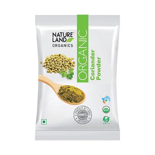 Coriander (Dhaniya) Powder - Natureland Organics - 200 gm