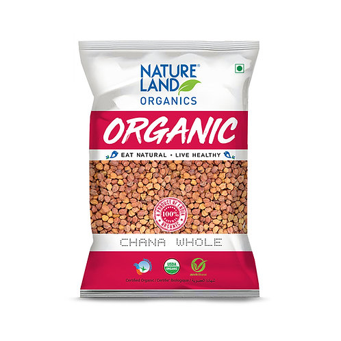 Chana Whole - Natureland Organics - 500 gm