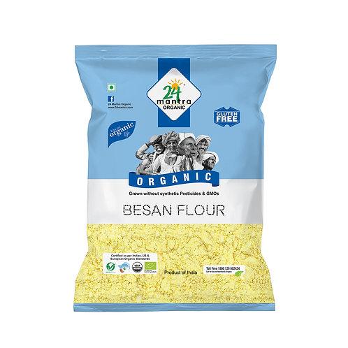 Besan (Gram Flour) - 24 Mantra Organic - 500 gm