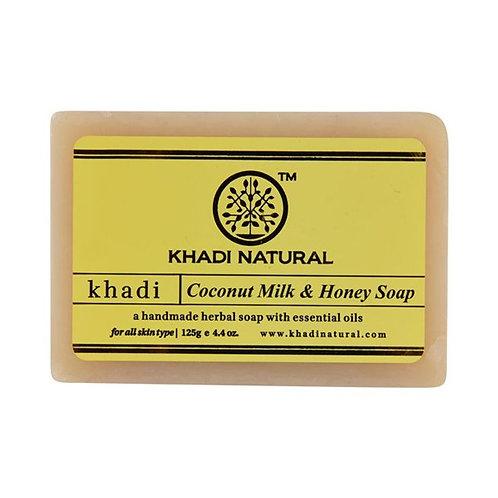 Coconut Milk & Honey Soap - Khadi Natural - 125 gm