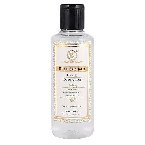 Pure Rose Water Skin Toner - Khadi Natural - 210 ml