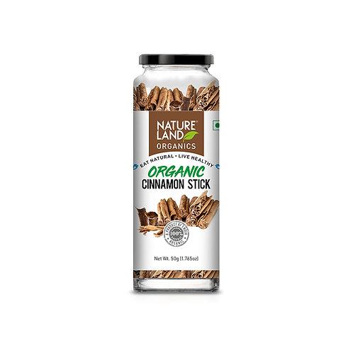 Cinnamon (Dalchini) Stick - Natureland Organics - 50 gm