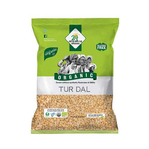 Tur Dal - 24 Mantra Organic - 500 gm