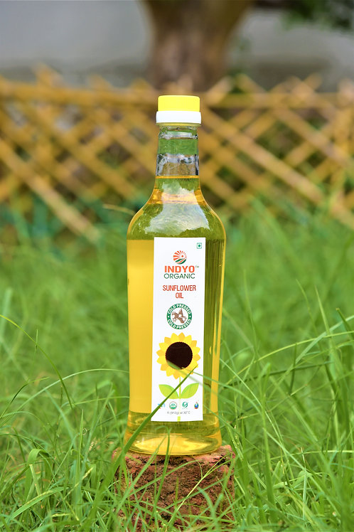 Sunflower Oil - Indyo Organic - 1 L