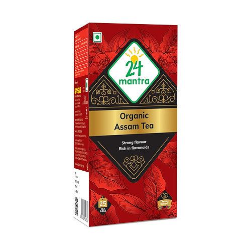 Assam Tea Bags - 24 Mantra Organic - 25 bags