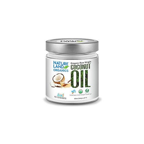 Coconut Oil - Natureland Organics - 400 ml
