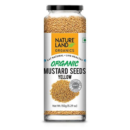 Mustard Yellow (Peela Sarso) - Natureland Organics - 150 gm