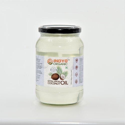 Coconut Oil - Indyo Organic - 500 ml