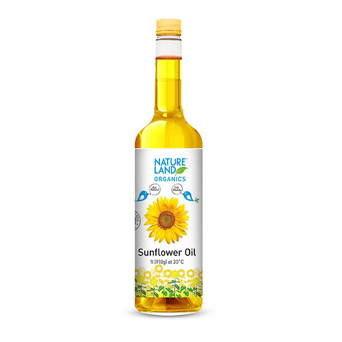 Sunflower Oil - Natureland Organics - 1 L
