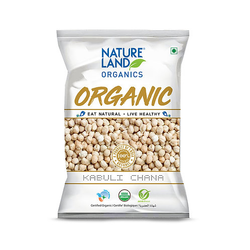 Kabuli Chana - Natureland Organics - 500 gm