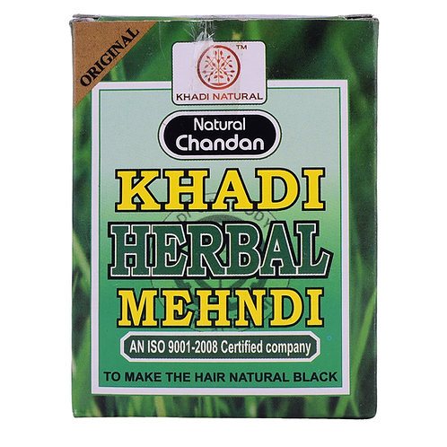 Black Mehndi - Khadi Natural - 100 gm