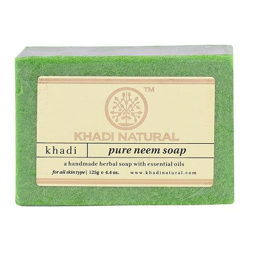 Pure Neem Soap - Khadi Natural - 125 gm