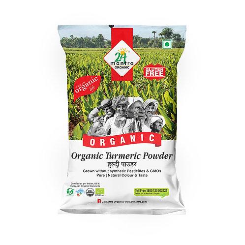 Turmeric (Haldi) Powder - 24 Mantra Organic - 100 gm