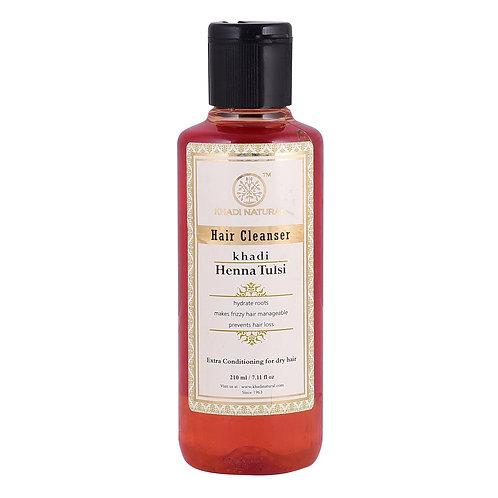 Henna Tulsi Hair Cleanser - Khadi Natural - 210 ml