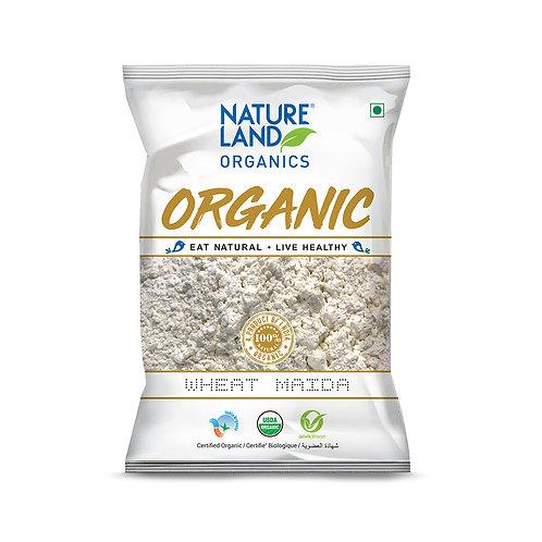 Maida Wheat - Natureland Organics - 500 gm