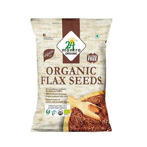 Flax Seed - 24 Mantra Organic - 200 gm