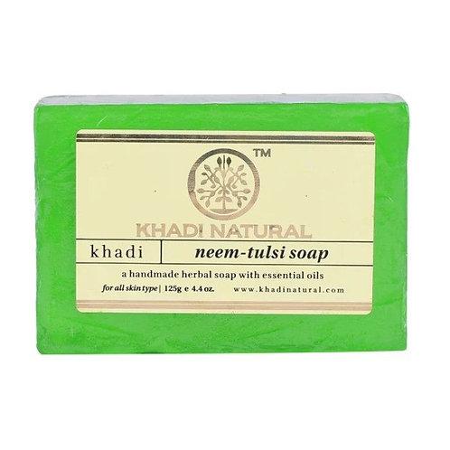 Neem Tulsi Soap - Khadi Natural - 125 gm