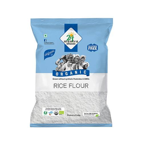 Rice Flour (Atta) - 24 Mantra Organic - 500 gm