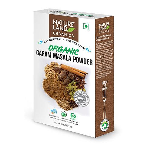 Garam Masala Powder - Natureland Organics - 100 gm