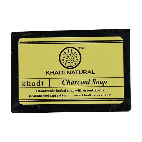 Charcoal Soap - Khadi Natural - 125 gm