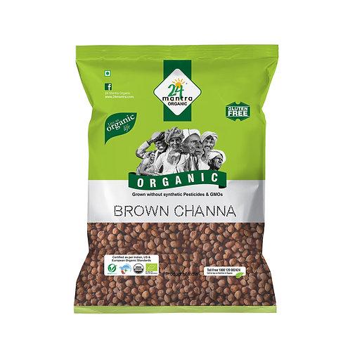 Brown Chana - 24 Mantra Organic - 500 gm