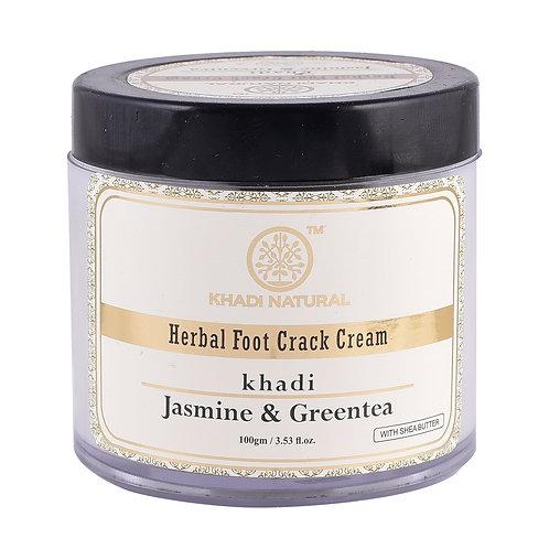Jasmine Green Tea Foot Crack Cream - Khadi Natural - 50 gm
