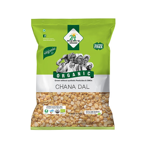 Chana Dal - 24 Mantra Organic - 500 gm