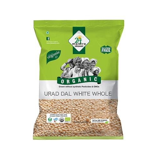 Urad Dal Whole White - 24 Mantra Organic - 500 gm