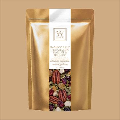 Bamboo Salt Pecadamia, Raisins & Berries - by W Place - 150g