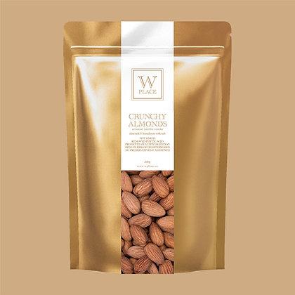 Crunchy Almonds - by W Place - 200g