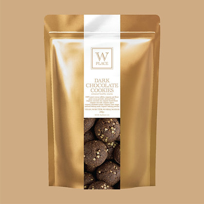 Dark Chocolate Cookies - by W Place - 200g