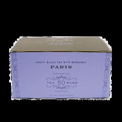 Paris tea Harney & Sons box of 50 paper tea bags