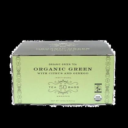 Organic green with citrus & gingko