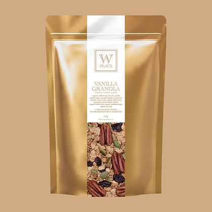 Vanilla Granola - by W Place - 250g