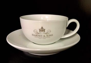 Harney & Sons tea cup & saucer set
