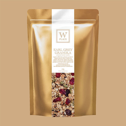 Earl Grey Granola - by W Place - 250g