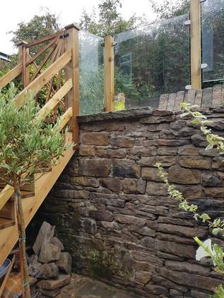 glass balstrade and dry stone wall.jpg