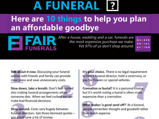 Fair Funerals are raising awareness about funeral costs
