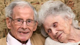 One of the UK's longest married celebrate their 80th wedding anniversary.