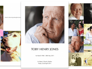 Funeral Programme Templates