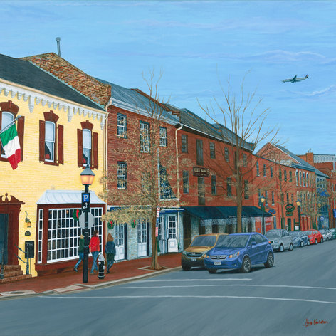 Old Town Alexandria in December
