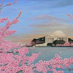 Cherry Blossoms at Sunrise
