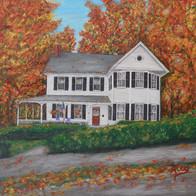 The Hale-Aibel House in Autumn