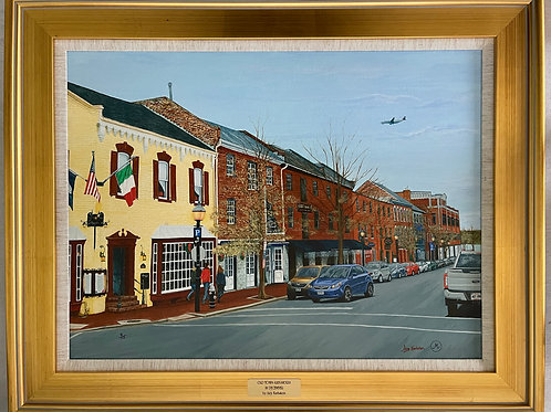"""Old Town Alexandria in December"" Limited-Edition Giclée #9"