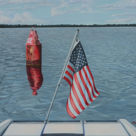Passing Channel Marker 12 Potomac River