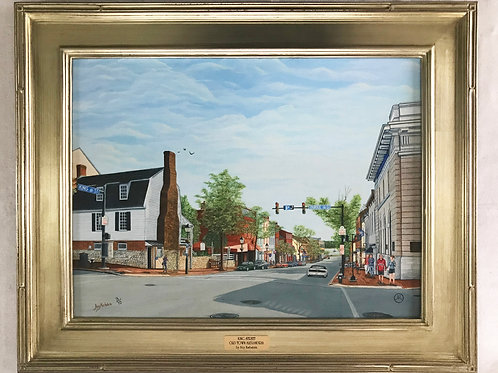 """""""King Street Old Town Alexandria"""" Limited-Edition Giclée #3"""