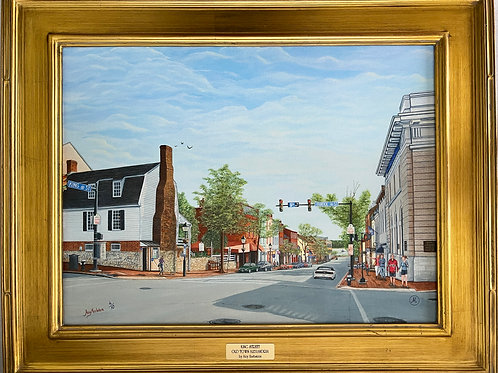"""""""King Street Old Town Alexandria"""" Limited-Edition Giclée #4"""