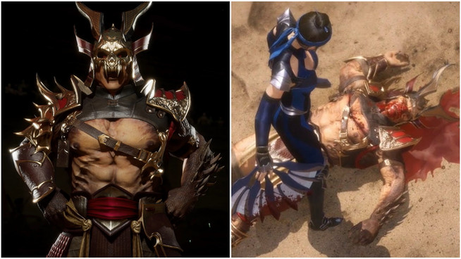 Shao Kahn blames heavy outfit for crushing defeat to Kitana