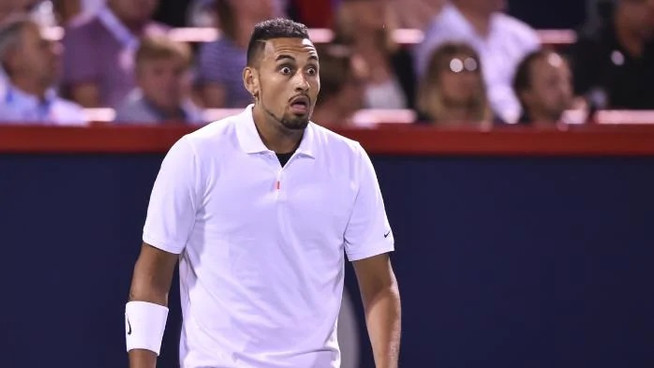 Nick Kyrgios fined $600,000 by ATP for 'looking at umpire funny'