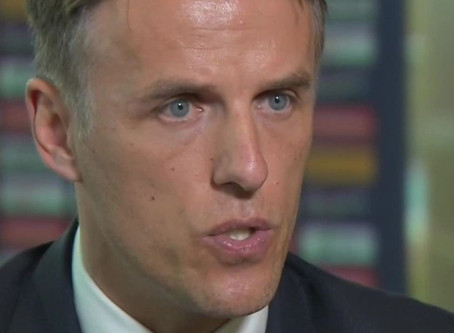 Phil Neville - I didn't even know women played football